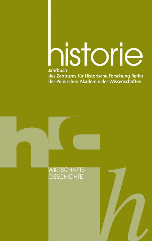 Wirtschaftsgeschichte cover