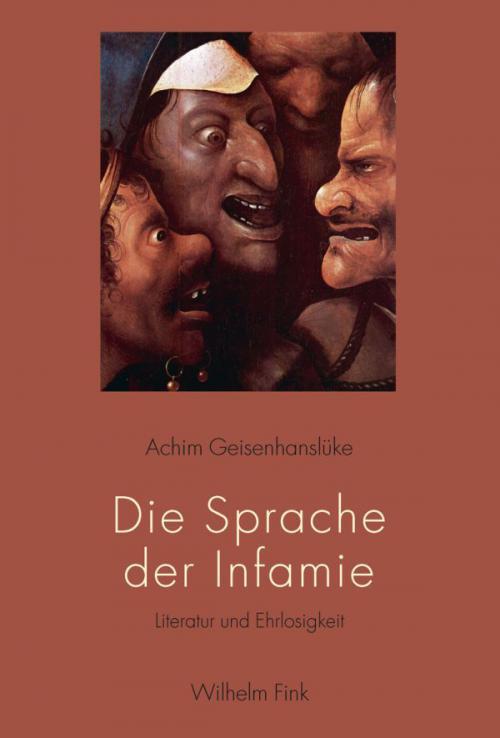 Die Sprache der Infamie cover