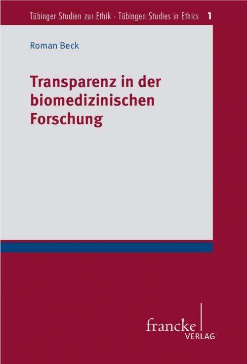 Transparenz in der biomedizinischen Forschung cover