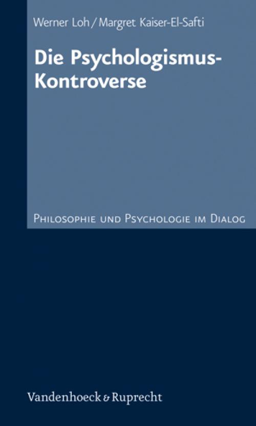 Die PsychologismusKontroverse cover