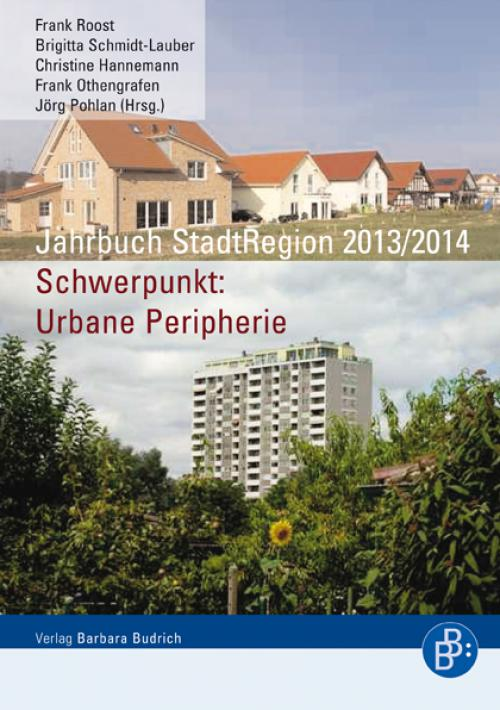 Jahrbuch StadtRegion 2013/2014 cover