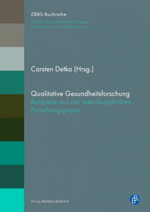 Qualitative Gesundheitsforschung cover