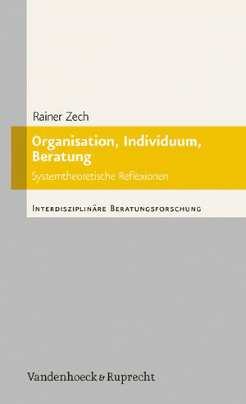 Organisation, Individuum, Beratung cover