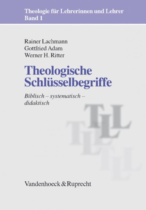 Theologische Schlüsselbegriffe cover