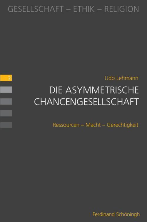 Die asymmetrische Chancengesellschaft cover