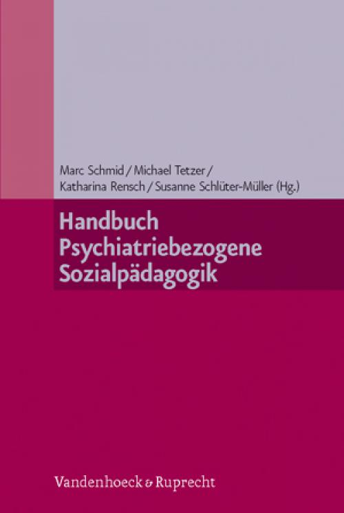 Handbuch Psychiatriebezogene Sozialpädagogik cover