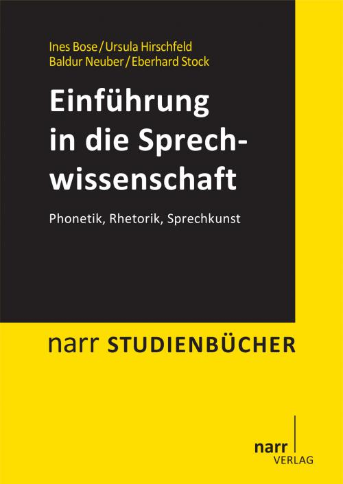 Einführung in die Sprechwissenschaft cover