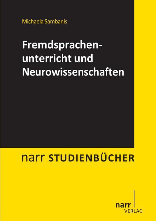 Fremdsprachenunterricht und Neurowissenschaften  cover