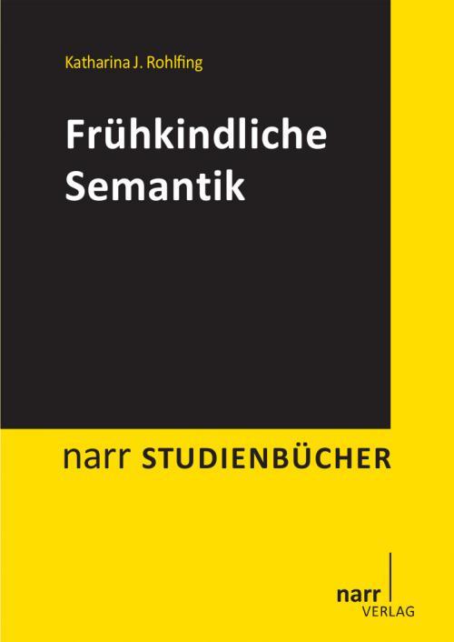 Frühkindliche Semantik cover