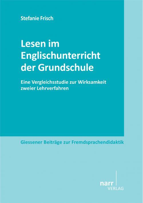Lesen im Englischunterricht der Grundschule  cover
