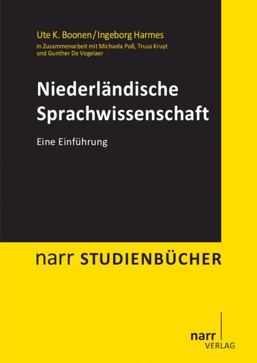 Niederländische Sprachwissenschaft cover