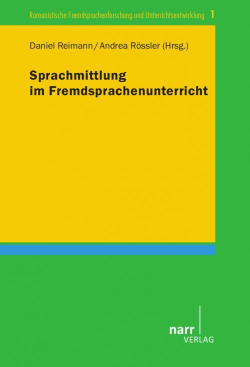 Sprachmittlung im Fremdsprachenunterricht cover