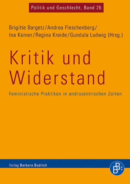 Kritik und Widerstand cover