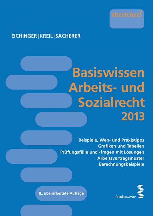 Basiswissen Arbeits- und Sozialrecht 2013 cover