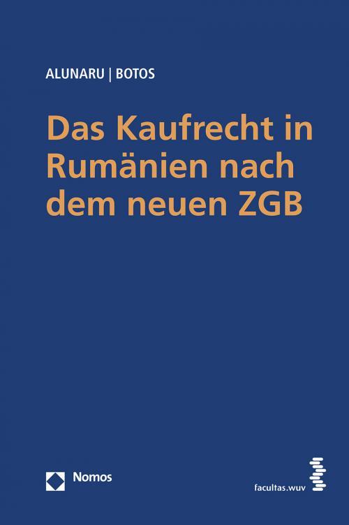 Das Kaufrecht in Rumänien nach dem neuen ZGB cover