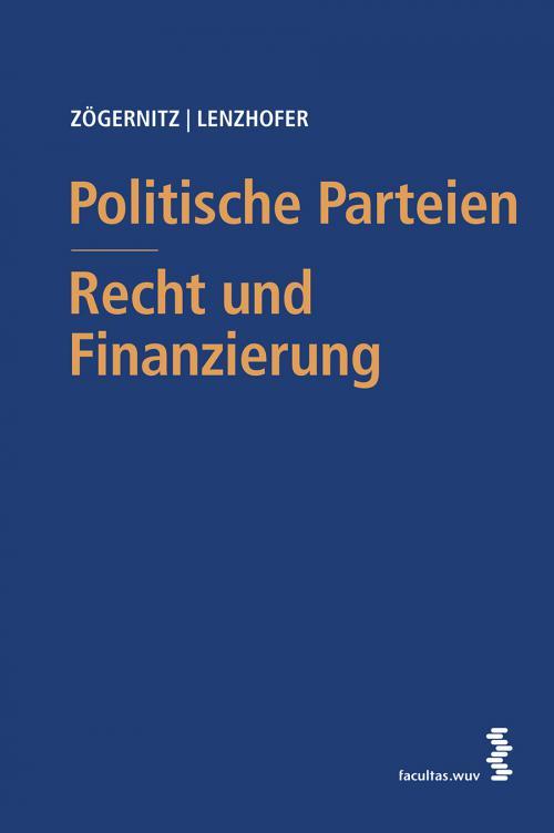 Politische Parteien - Recht und Finanzierung cover