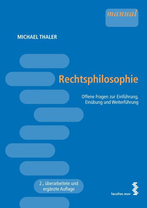Rechtsphilosophie cover