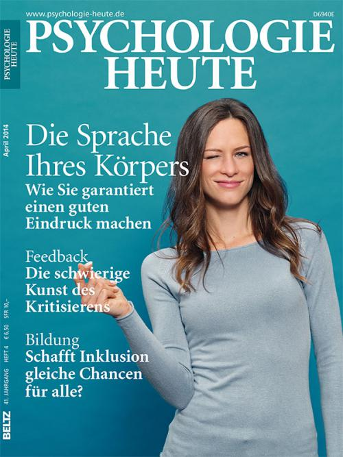 Psychologie Heute 4/2014 cover