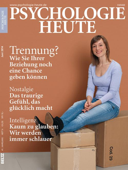Psychologie Heute 6/2014 cover