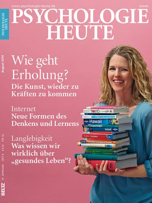 Psychologie Heute 8/2014 cover