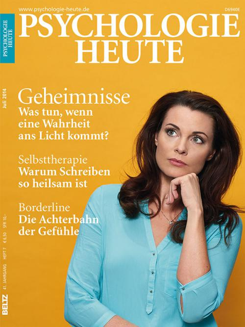 Psychologie Heute 7/2014 cover