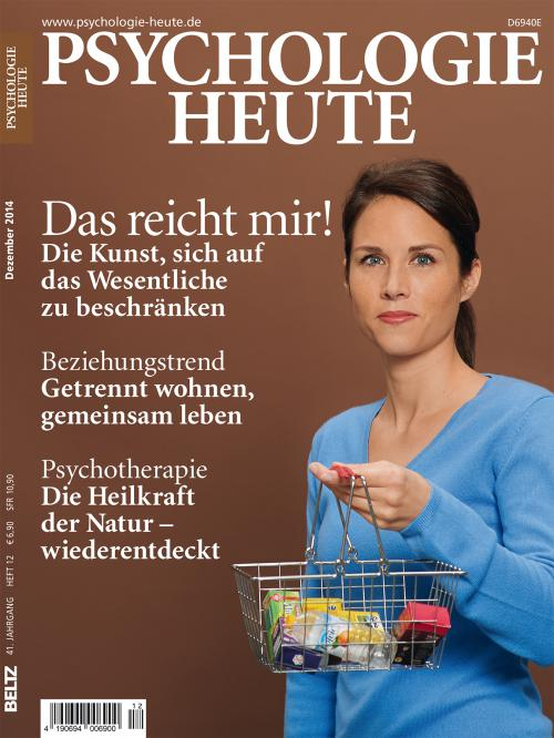 Psychologie Heute 12/2014 cover