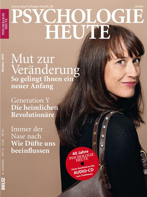 Psychologie Heute 10/2014 cover
