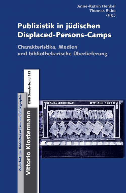 Publizistik in jüdischen Displaced-Persons-Camps im Nachkriegsdeutschland cover
