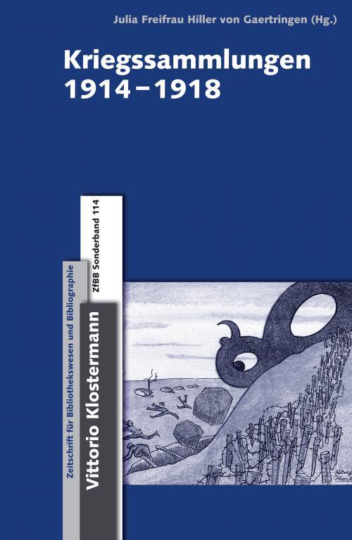 Kriegssammlungen 1914-1918 cover