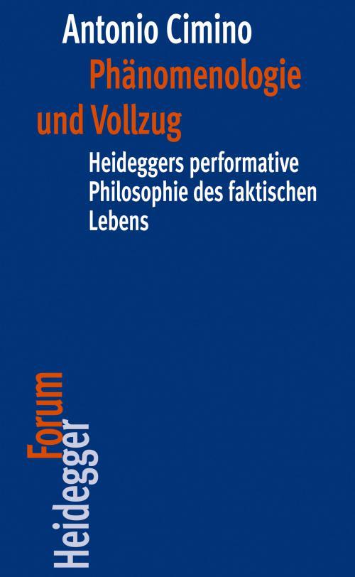 Phänomenologie und Vollzug cover