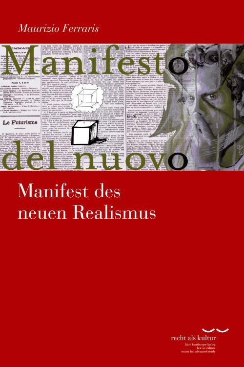Manifest des neuen Realismus cover