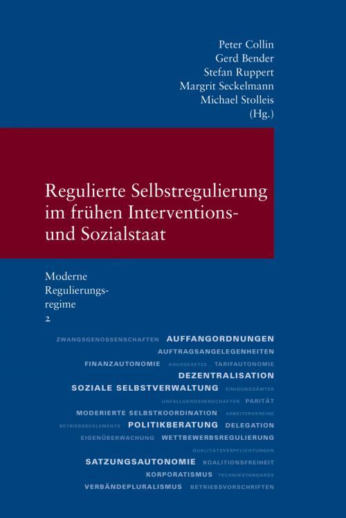 Regulierte Selbstregulierung im frühen Interventions- und Sozialstaat cover