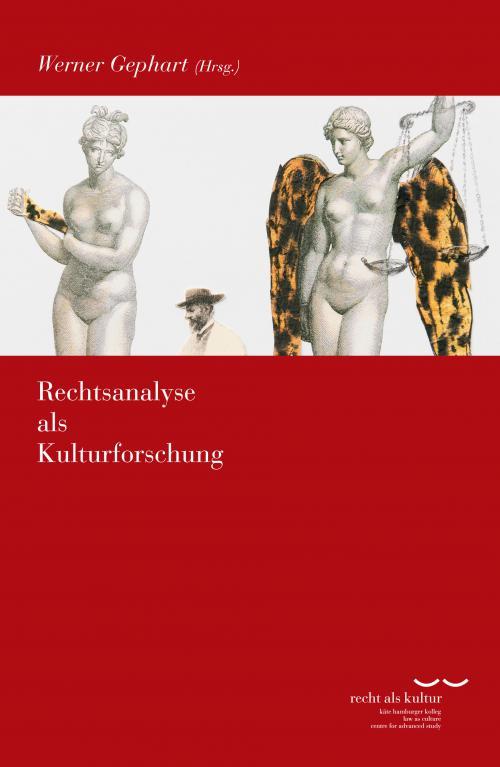 Rechtsanalyse als Kulturforschung cover