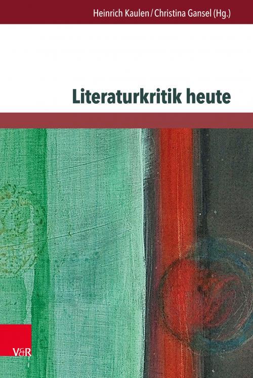 Literaturkritik heute  cover