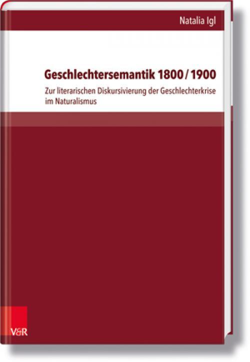 Geschlechtersemantik 1800/1900 cover