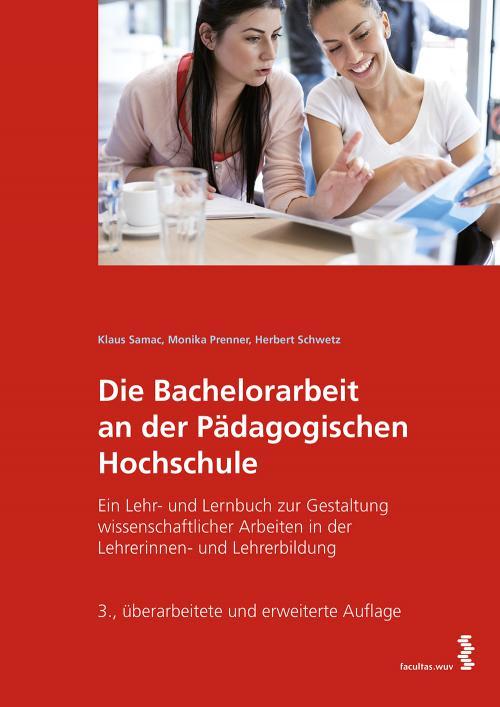 Die Bachelorarbeit an der Pädagogischen Hochschule cover