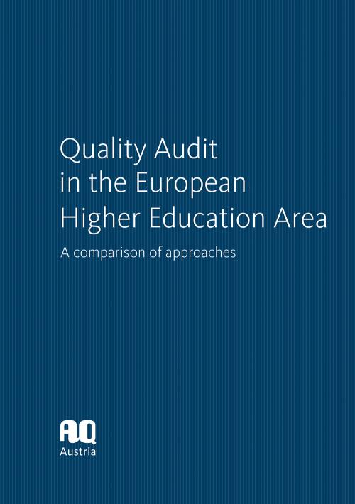 Quality Audit in the European Higher Education Area cover