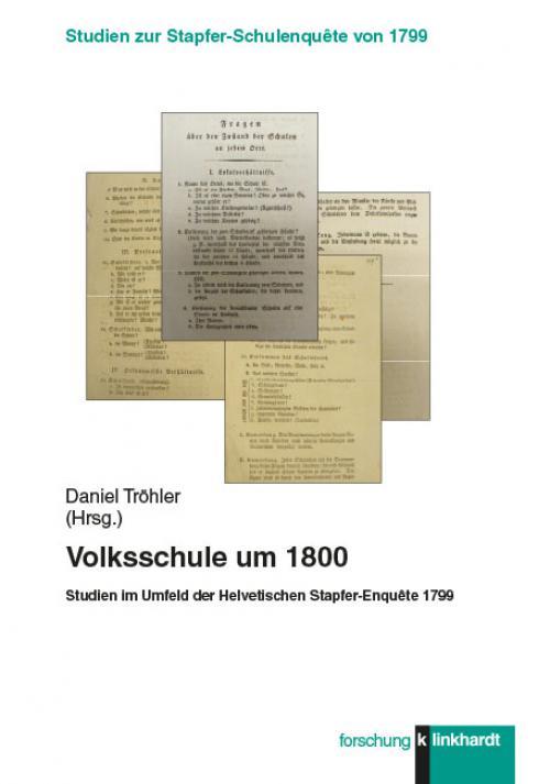 Volksschule um 1800 cover