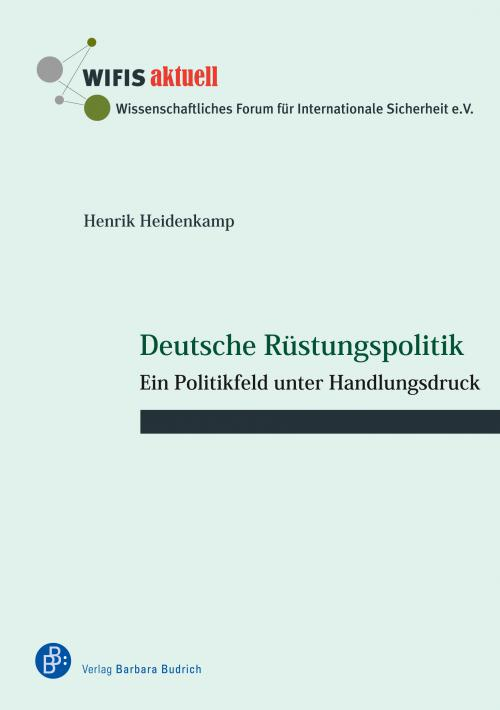 Deutsche Rüstungspolitik cover