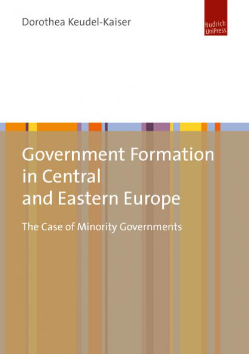 Government Formation in Central and Eastern Europe cover