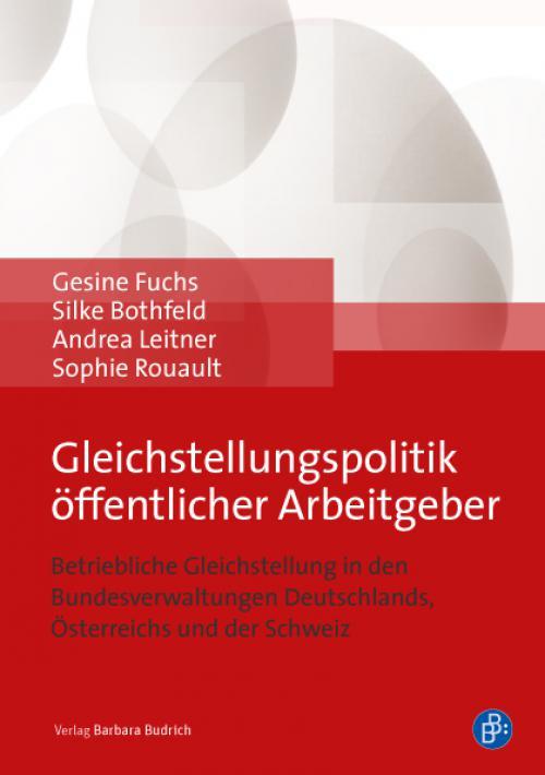 Gleichstellungspolitik öffentlicher Arbeitgeber cover