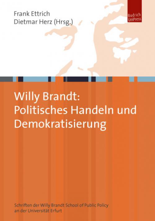 Willy Brandt: Politisches Handeln und Demokratisierung cover