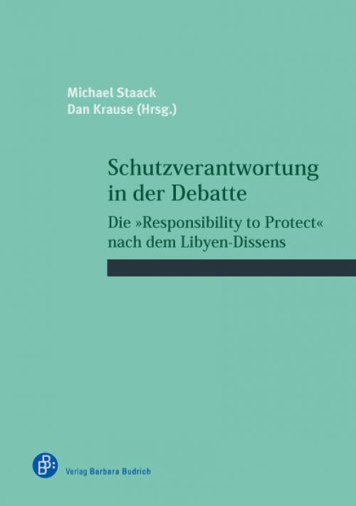 Schutzverantwortung in der Debatte cover