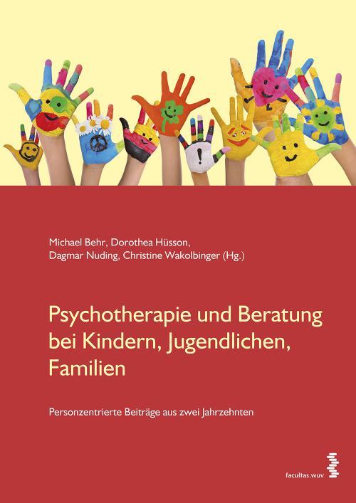 Psychotherapie und Beratung bei Kindern, Jugendlichen, Familien cover