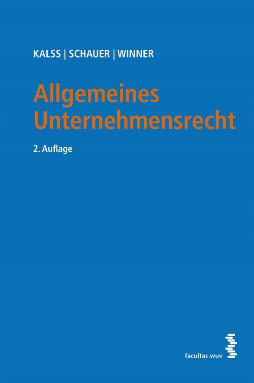 Allgemeines Unternehmensrecht cover