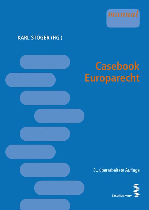 Casebook Europarecht cover