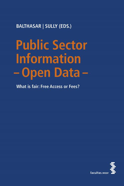 Public Sector Information – Open Data cover