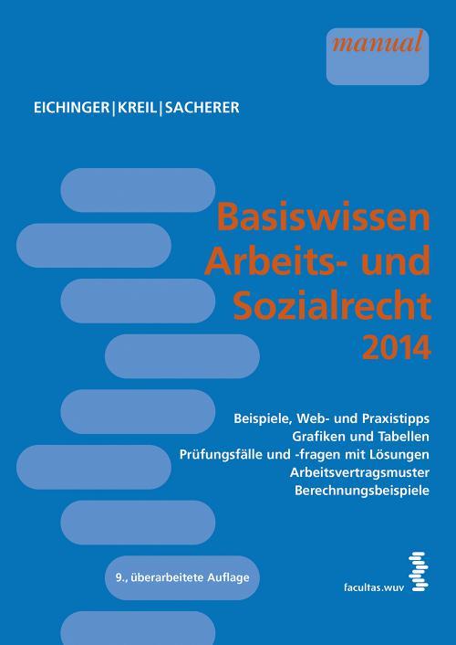Basiswissen Arbeits- und Sozialrecht 2014 cover
