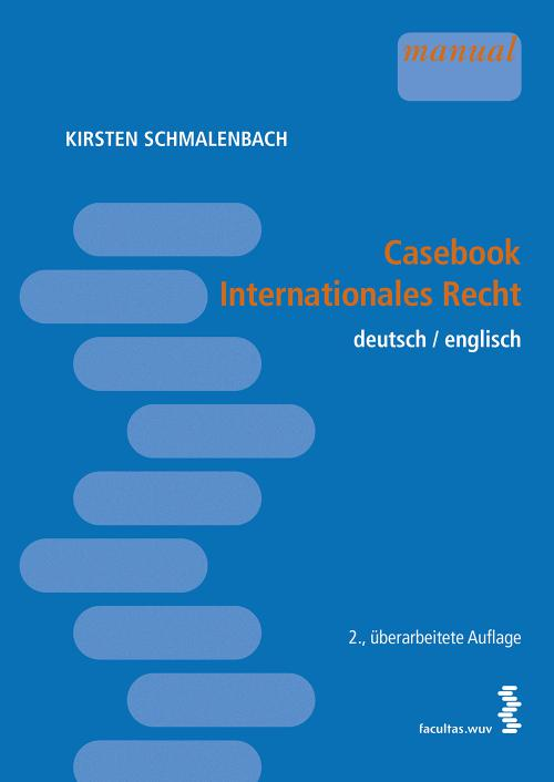 Casebook internationales Recht cover