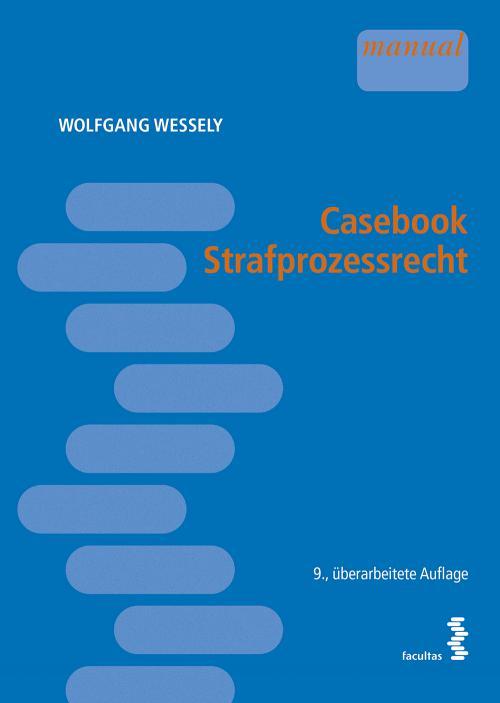 Casebook Strafprozessrecht cover